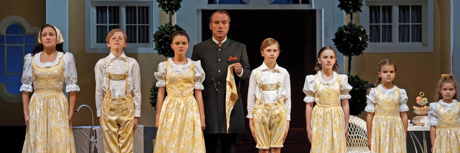 The Sound of Music Musical in the Landestheater of Salzburg | © Christina Canaval