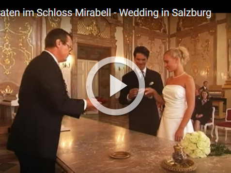 Video from Wedding in Mirabell Castle in Salzburg | © Tourismus Salzburg