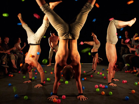 Acrobatic at Winter festival in Salzburg | © Andy Phillipson / www.livewireimage.com