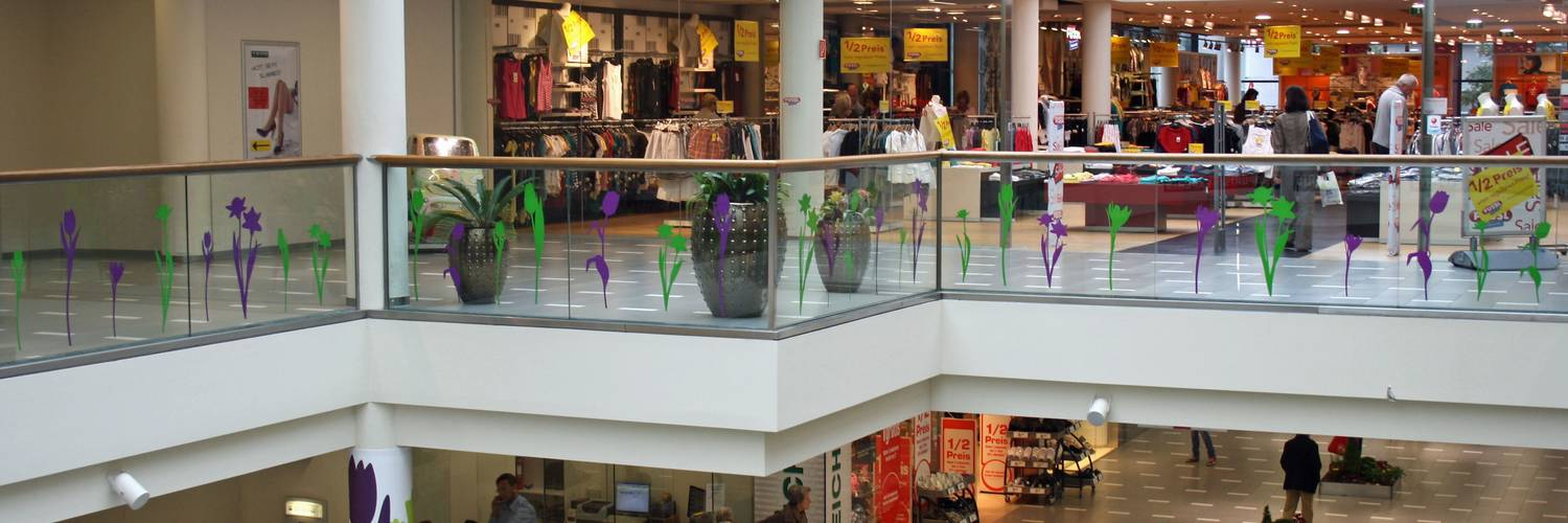 Interior View of the Shopping Center ZIB Salzburg | © ZIB