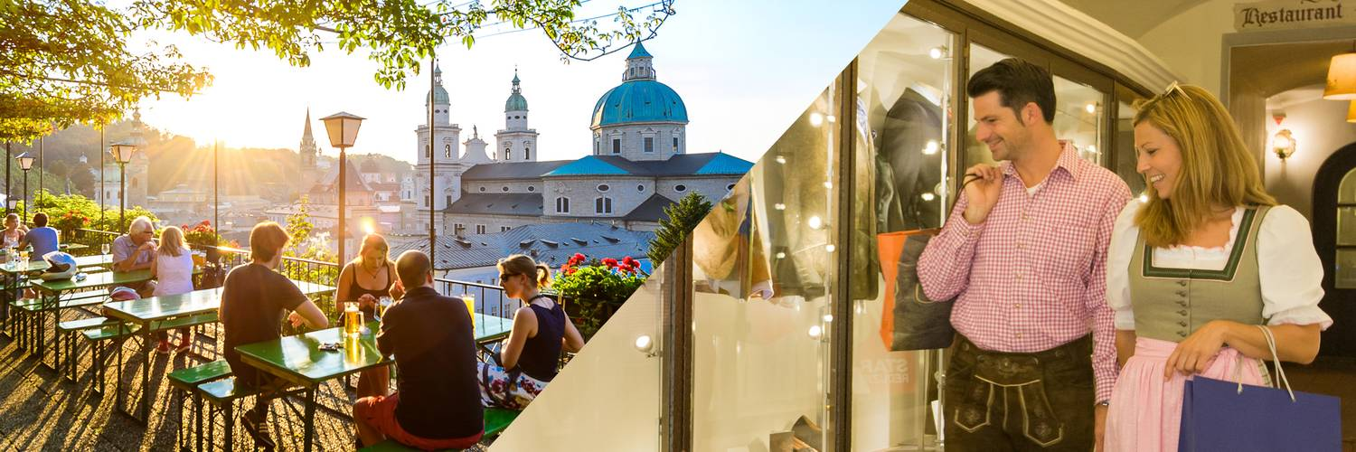 Dining & Shopping : Dining and Shopping in Salzburg