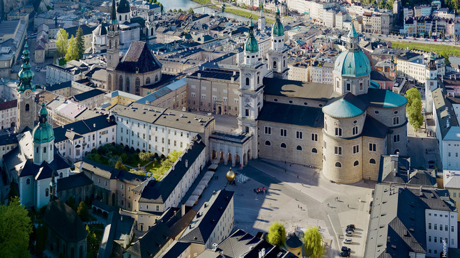 View of the DomQuartier Salzburg  | © DomQuartier, HG Esch
