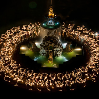 Torch dance at the Residenzplatz in Salzburg | © Wolfgang R. Fürst