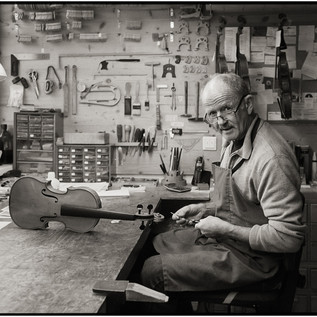 Salzburg's Master Violinmaker Peter Svatek in his repair shop  | © Peter Svatek