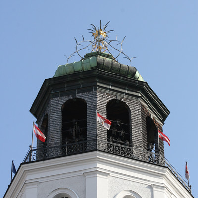 The bell tower of Salzburg  in the building of the Salzburg Museum  | © Veronika Zangl - mmpr