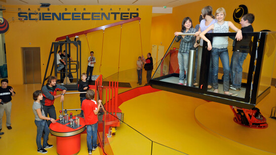 Sciencecenter at the Museum of Natural History and Technology | © Haus der Natur
