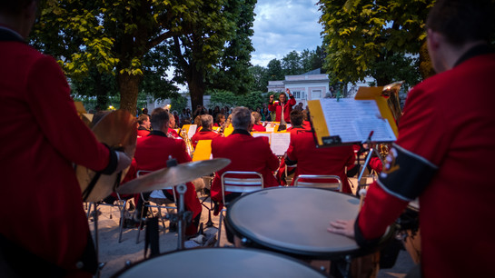 Leuchbrunnen Concerts at the Mirabell Garden  | © knaro.at