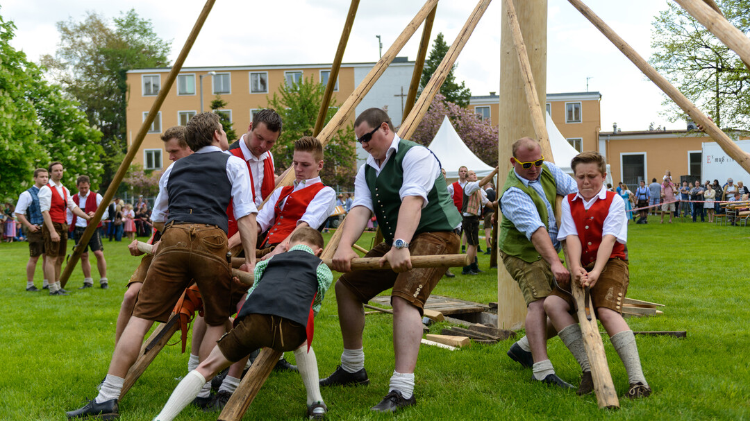 The Raising of the Maypole in Salzburg  | © Tourismus Salzburg GmbH