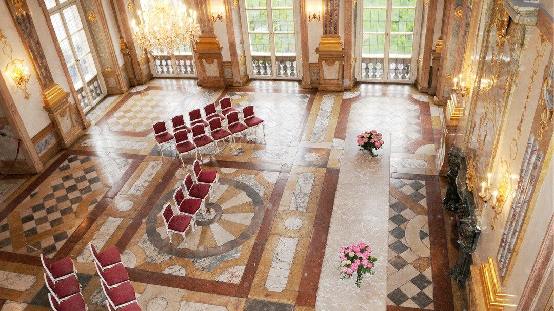 Great View of the Marble Hall at Mirabell Palace | © Johannes Killer