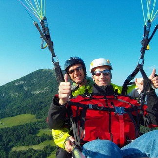 Paragliding at the Gaisberg over Salzburg  | © FlyMozart