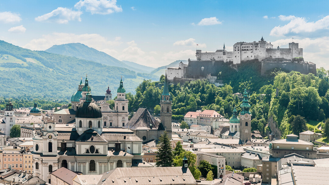The old town of Salzburg in the summer  | © Anibal Trejo