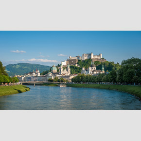 View at the Old Town of Salzburg and Salzach | © Tourismus Salzburg, Foto: Breitegger Günter