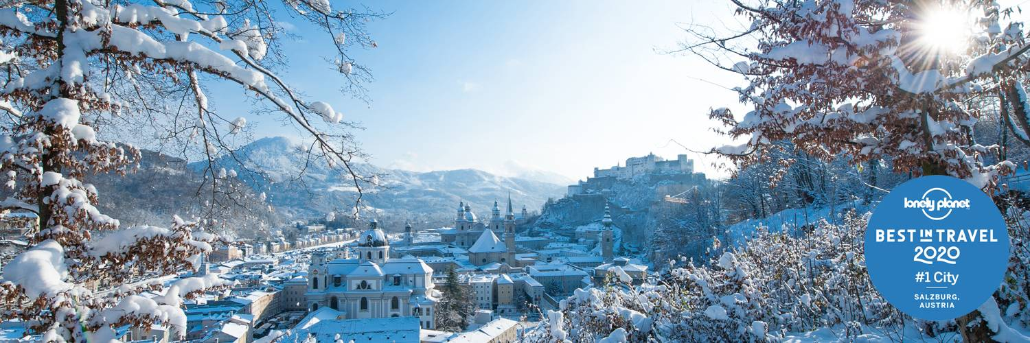 Best in Travel 2020 - Lonely Planet / Winter in Salzburg | © Tourismus Salzburg