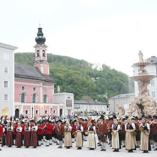 Festival der Blasmusik am Residenzplatz | © wildbild.at
