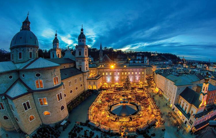 Salzburg Christmas Market.Salzburg Christmas Market Salzburg Info