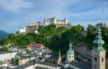 View on the Hohensalzburg Fortress | © Tourismus Salzburg