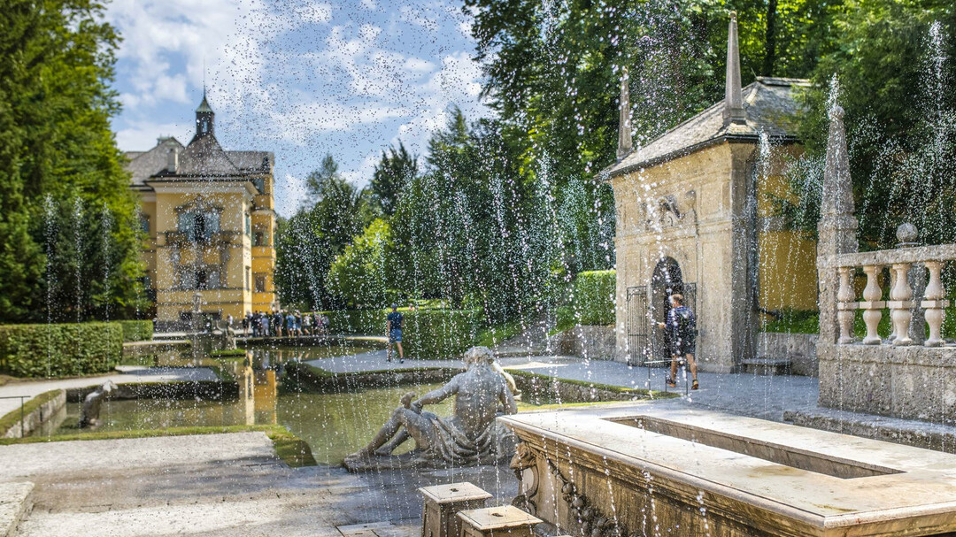 Trick Fountains at Hellbrunn: Fürstentisch | © Schlossverwaltung Hellbrunn