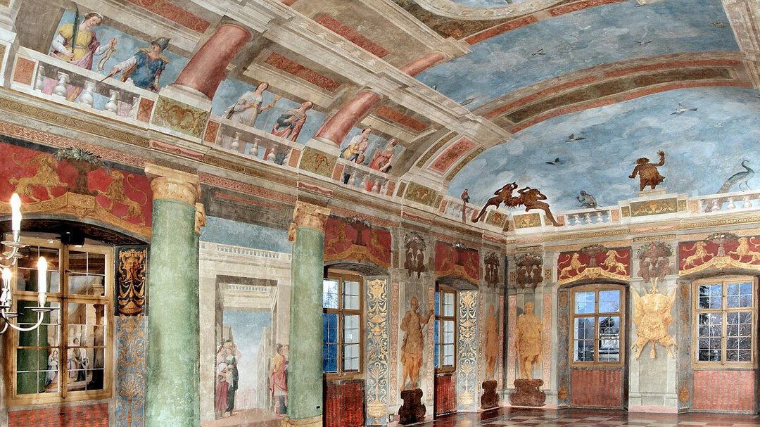 celebration hall at Hellbrunn Palace | © Schlossverwaltung Hellbrunn