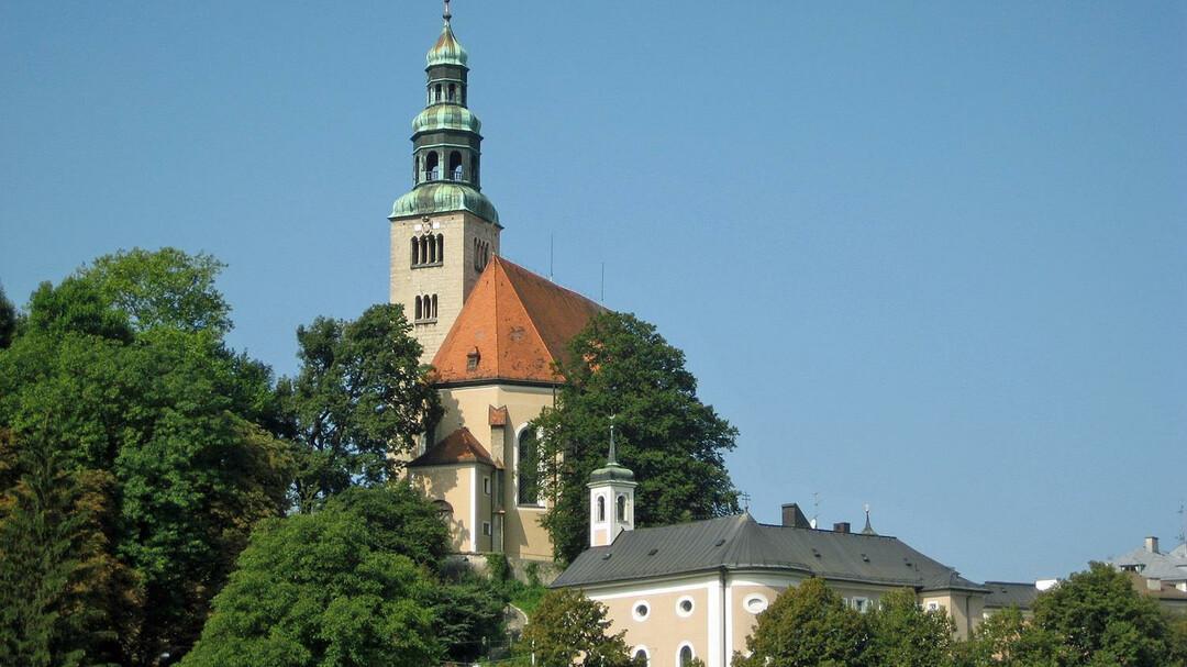 Mllner Kirche Churches Cemeteries In Salzburg Salzburgfo
