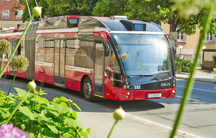 ObusAlbus Buses Public Transportation in Salzburg salzburginfo
