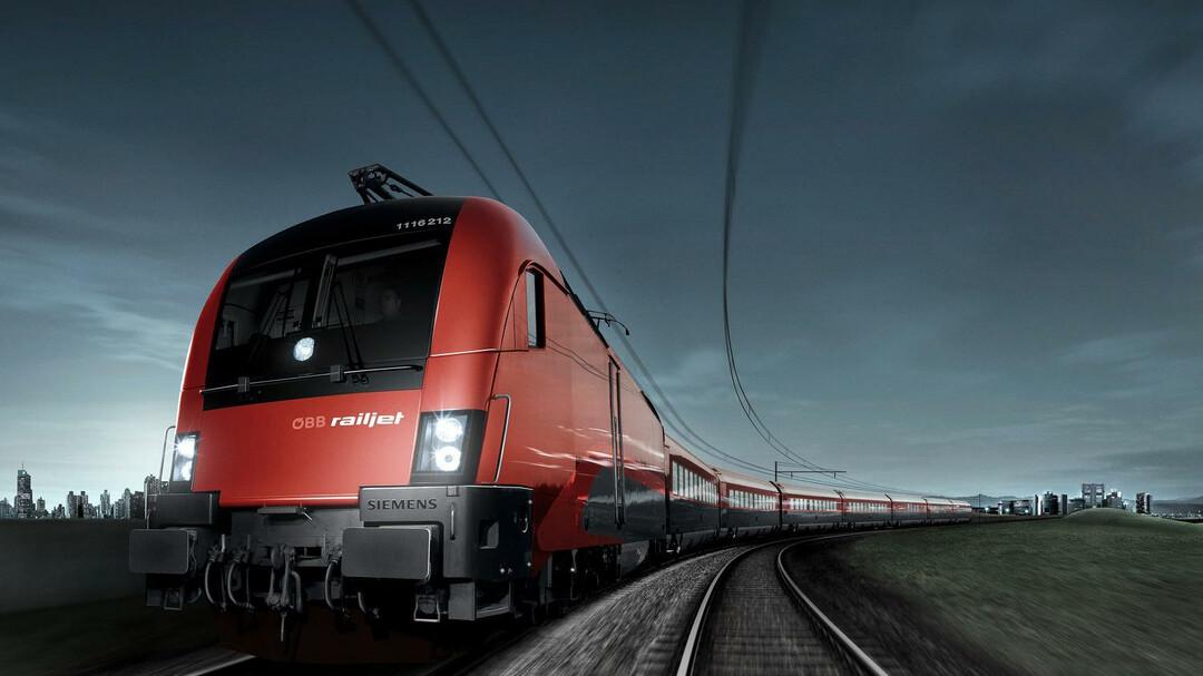 ÖBB Trains : Rail Travel to Salzburg : salzburg info