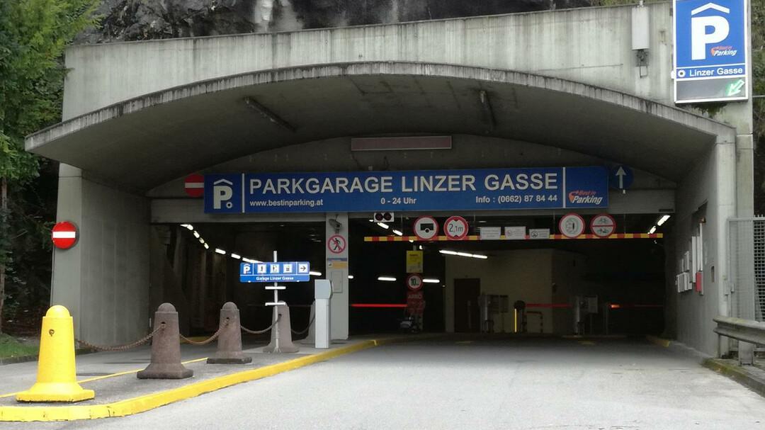 Parkgarage Linzer Gasse | © Tourismus Salzburg / St. Loidl