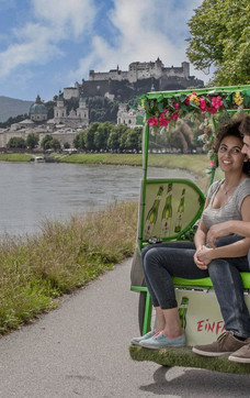Rickshaw City Tour - Sound of Music pavillon Hellbrunn | © Rikschatours Salzburg
