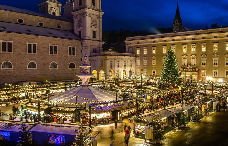 Was Kostet Glühwein Auf Dem Weihnachtsmarkt 2019.Salzburger Christkindlmarkt Advent In Salzburg Salzburg Info