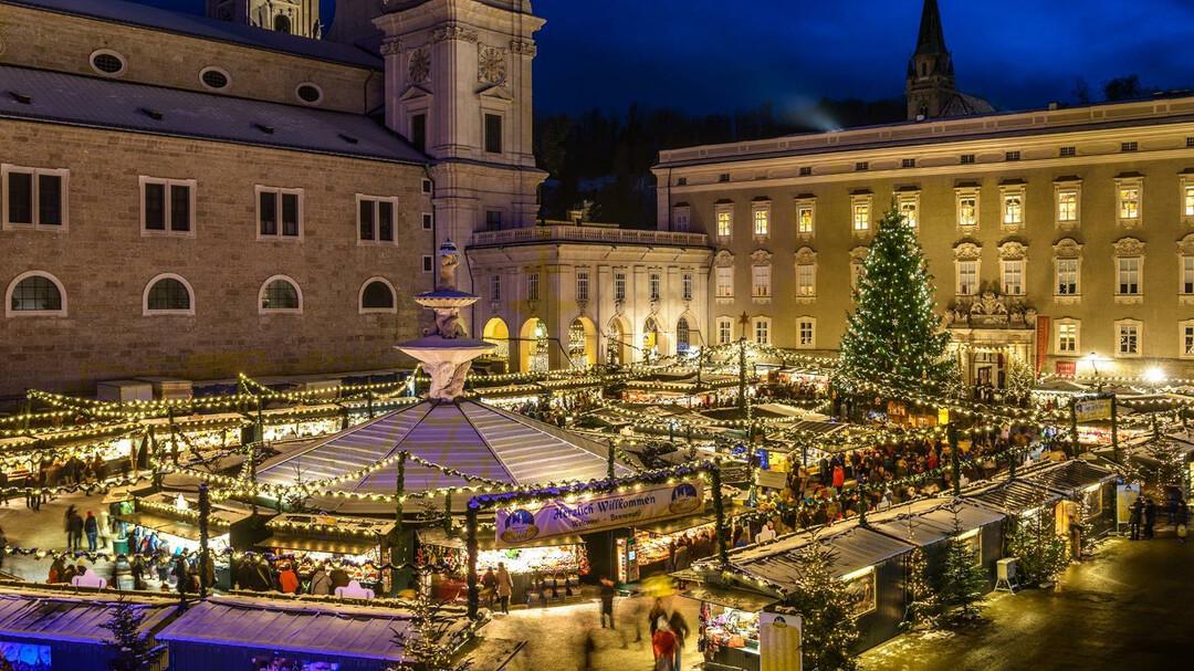 Wie Lange Hat Der Weihnachtsmarkt Auf.Salzburger Christkindlmarkt Advent In Salzburg Salzburg Info