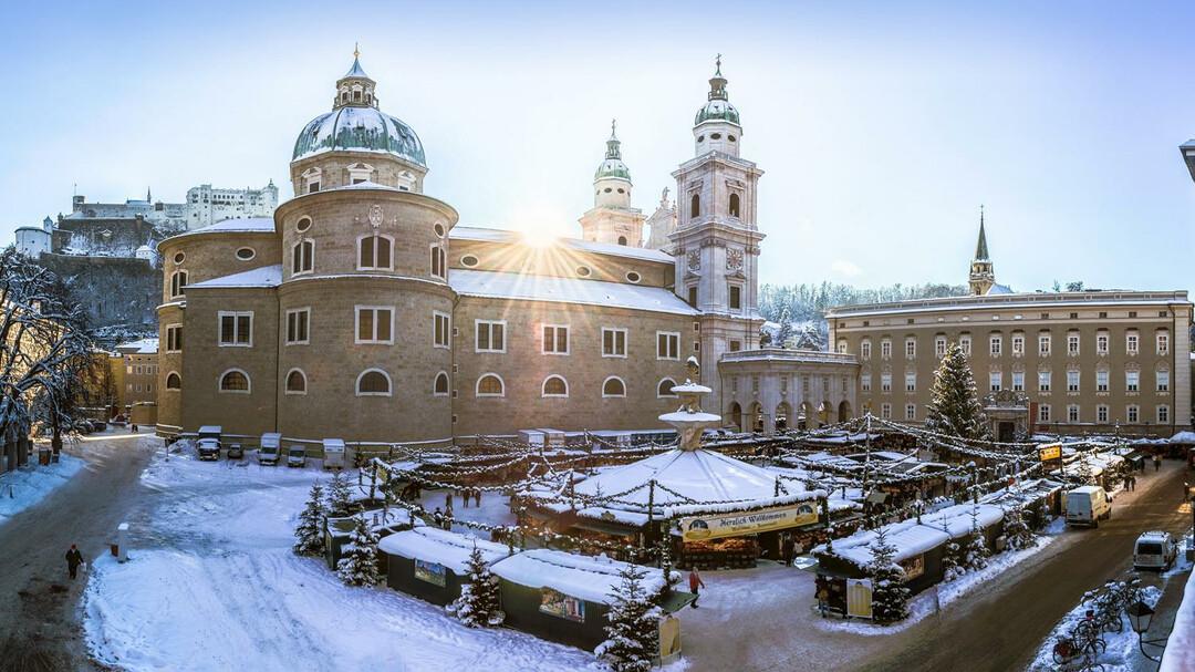 Weihnachtsmarkt Anfang.Salzburger Christkindlmarkt Advent In Salzburg Salzburg Info