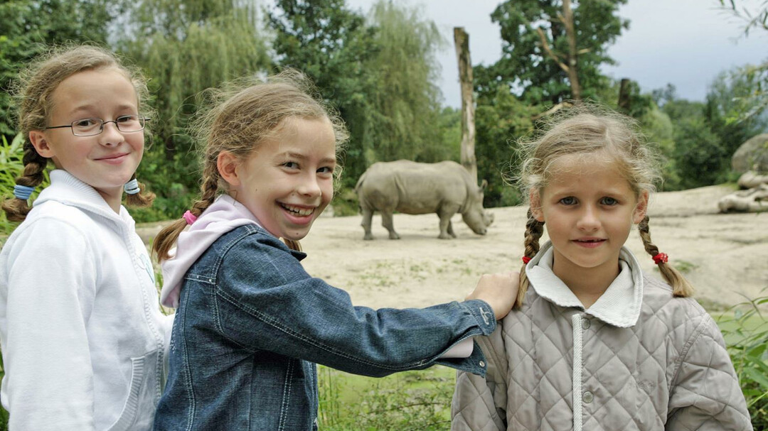 guided tour with children | © Zoo Salzburg