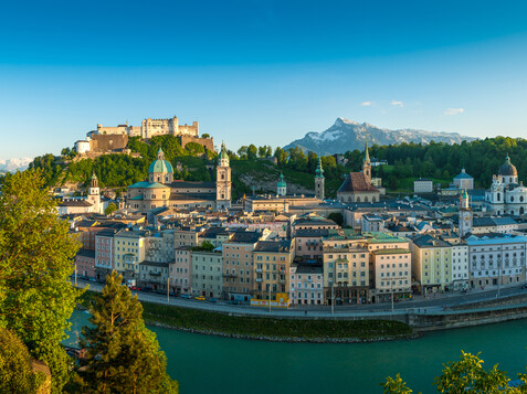 Salzburg panorama with the view on the old town of Salzburg | © Tourismus Salzburg