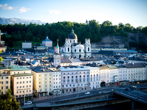 Panorama of the Old Town of Salzburg in Summer | © Tourismus Salzburg / G. Breitegger