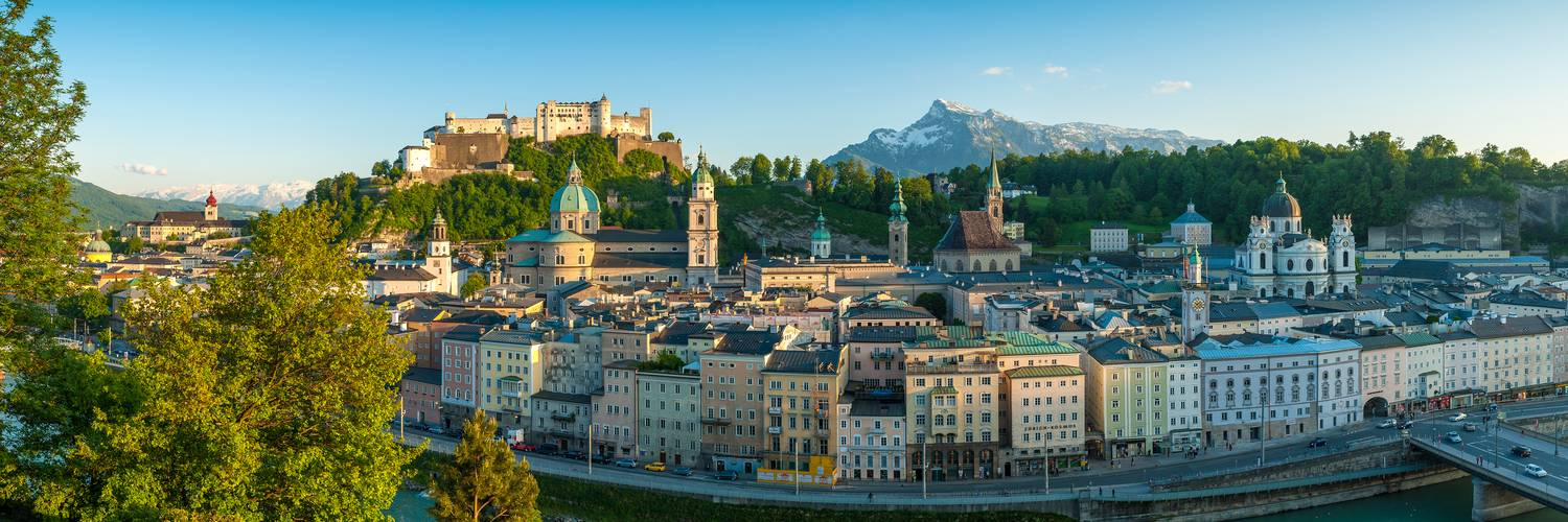 Panorama of the Old Town of Salzburg in Spring | © Tourismus Salzburg