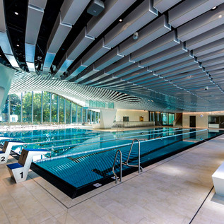 Sports pool in the Paracelsusbad in Salzburg | © Tourismus Salzburg / G. Breitegger